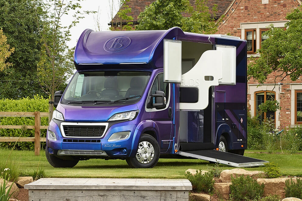 The Eventer Compact 3.5T - 4.5T Horsebox