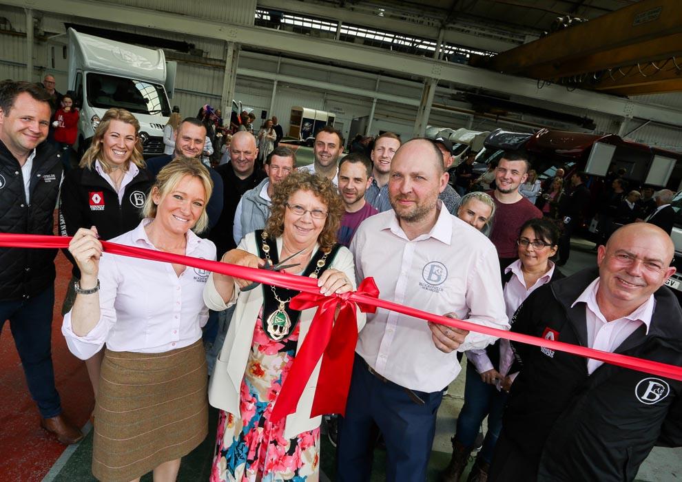 Bloomfields Factory Opening in June 2017