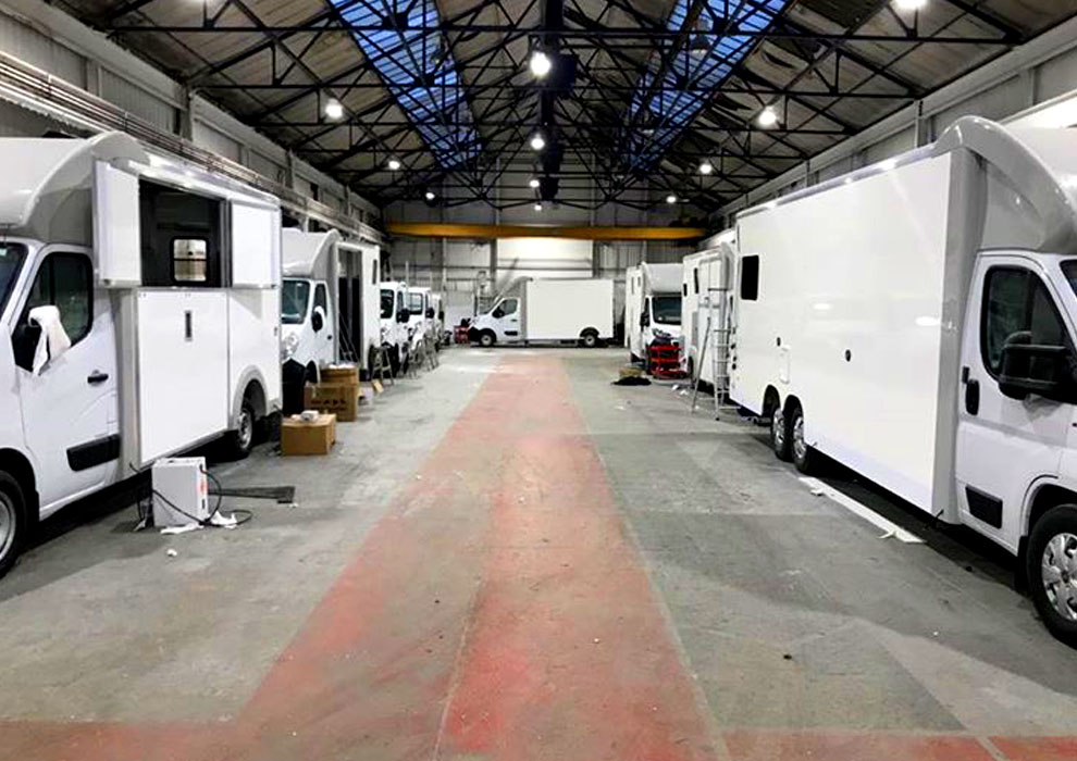 All of our horseboxes under go a rigorous 160 point quality inspection