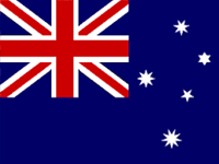 Australia Bloomfields Agents Flag