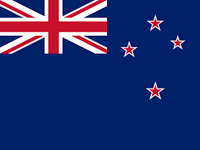 New Zealand Bloomfields Agents Flag