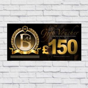 £150.00 Gift Voucher