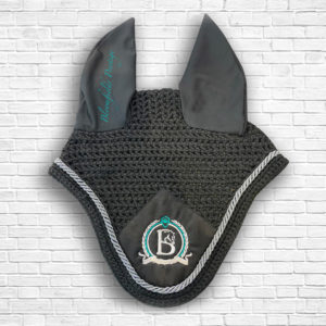 Black & Teal Prestige Bonnet