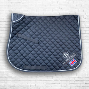 Black Team Saddle Cloth