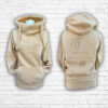 Ladies Sand, Gold & Silver Team Crossed Neck Hoodie