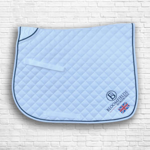 White Team Saddle Cloth